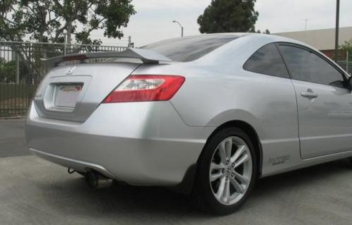 HKS 32008-BH002 Exhaust (07-09 Civic Si Sedan Sport Ti Tips)