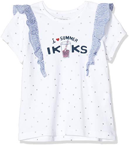 IKKS T-shirt I Love Summer Baby Meisje – ivoor – 6-9 mois