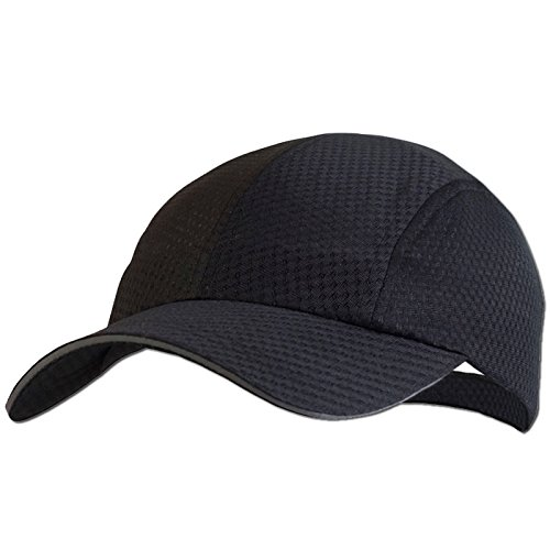 TrailHeads Women's Race Day Running Cap - black