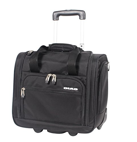 Price comparison product image Ciao Carry On Wheeled Under The Seat Bag (Black)