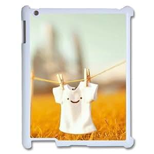 DIYCASESTORE 2014 Brand New IPad 2,3,4 Cover Custom Case Smiley Face,Handmade customized case WE189107