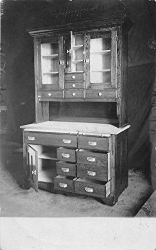 kitchen-cabinets-real-photo-antique-postcard-j58198