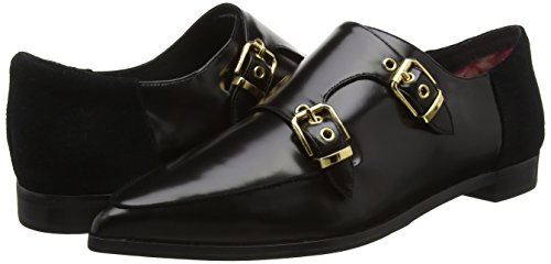 Mujer suede Leather Box Mocasines Naoi Para Baker Ted Black x8wISq4HO