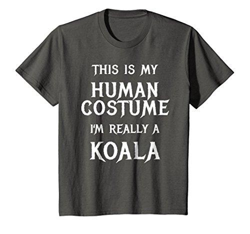 Kids I'm Really a Koala Halloween Costume Shirt Easy Funny Top 10 (Top Ten Easy Halloween Costumes)