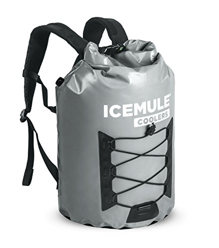 Festival Cooler - IceMule Pro Insulated Backpack Cooler Bag - Hands-Free, Highly-Portable, Collapsible, Waterproof and Soft-Sided Cooler Backpack for Hiking, The Beach, Picnics, Camping, Fishing - 23 Liters, 20 Can