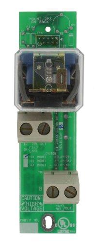 Leviton RELAY-2PL Z-Max 2-Pole N/O Relay Card, 20A, 208-480V