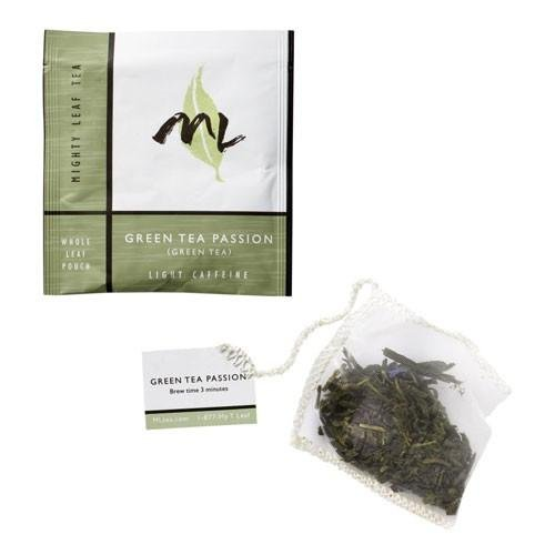 Mighty Leaf Tea, ML Premium Line, Green Tea Passion 100ct