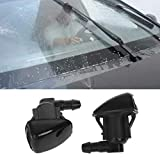 Forgun 2Pcs Car Windshield Washer Wiper,Water Spray Nozzle Fit for Jeep 2007 2008 2009 2010 2011