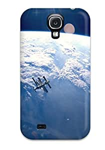 Durable Defender Case For Galaxy S4 Tpu Cover(space Station)