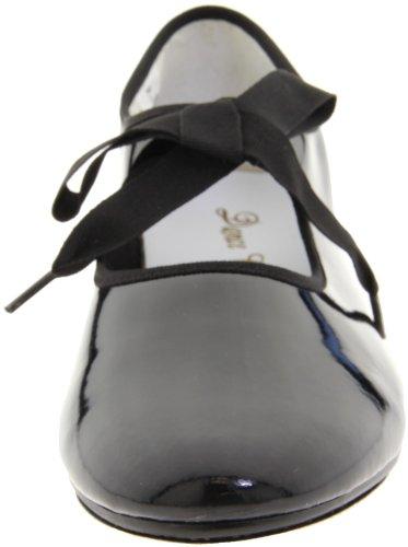 Dance Class Women's T102 Beginning Tap Shoe Black 8Skyz4Lwn7