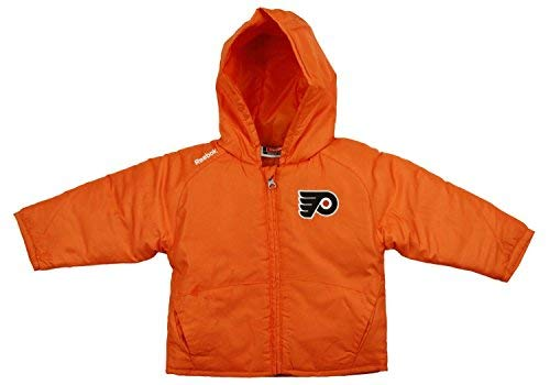 NHL Philadelphia Flyers Little Boys Toddlers TNT Jacket - Orange