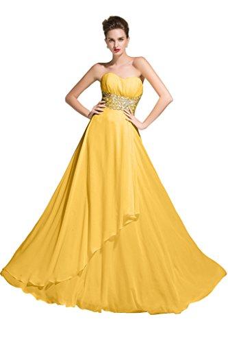Sunvary - Vestido - para mujer Dorado