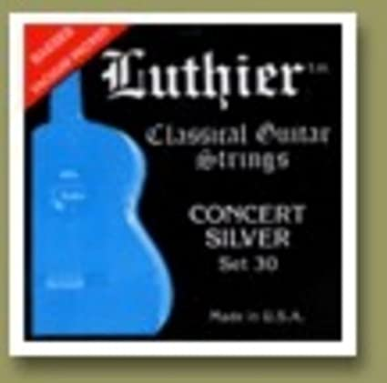 Luthier Concert Silver - Set 30 (Medium/Hard tension)