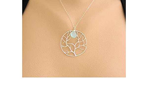 Birthstone anxiety relief Necklace for mom Peridot Necklaces for women Essential Oil Diffuser Necklace Mothers Day Gift from daughter