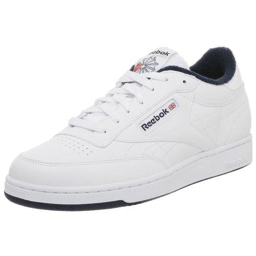 UPC 054871005978, Reebok Men's Club C Sneaker,White/Navy,9.5 M