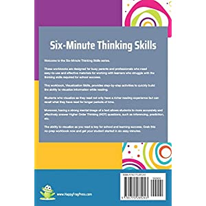 Visualization Skills for Reading Comprehension (Six-Minute Thinking Skills) Paperback – 6 Oct. 2018