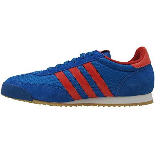 adidas Originals Dragon Herren Sneakers Multicolore (Azul / Rojo / Dorado (Reabri / Rojo / Dormet))