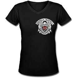 HJT Dropkick Murphys tour Classic Women's V-Neck T Shirts XL