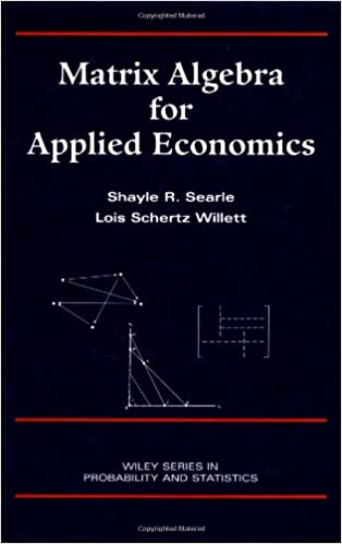 Matrix algebra for applied economics shayle r searle lois schertz matrix algebra for applied economics 1st edition fandeluxe Choice Image