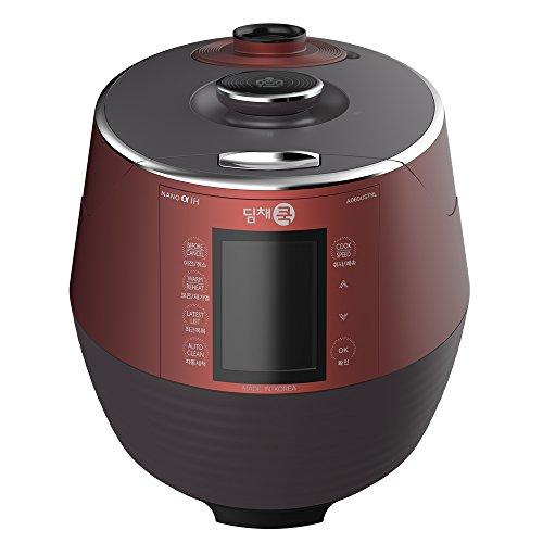 Dimchae-A060USTRL-Premium-Pressure-Rice-Cooker-Red