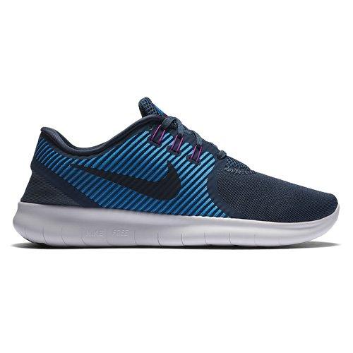 Nike Womens Free Rn Cmtr Scarpa Da Corsa Squadron Blu / Scuro Ossidiana
