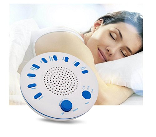 Sleep Sound Machine,CE FCC APPROVED,White Noise Machine,Relaxation Sound Sleep Therapy 9 Natural Soothing Sounds Machine