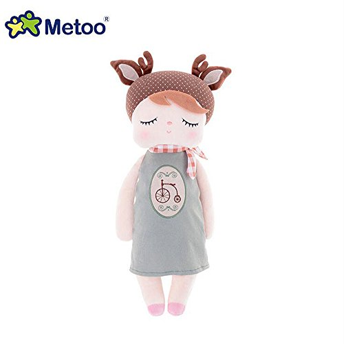 Metoo Angela Stuffed Plush Cute Doll Toy For Kids Gifts Bike Pudding Teapot New