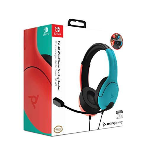 PDP LVL40 Wired Stereo Gaming Headset - Nintendo Switch