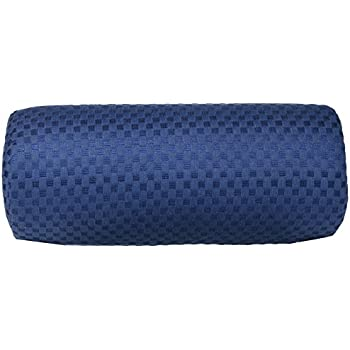 Amazon Com Memory Foam Round Cervical Pillow In Blue