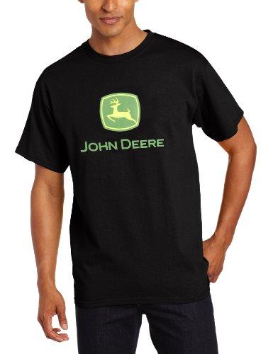 John Deere Logo T-Shirt - Men's - Black, -