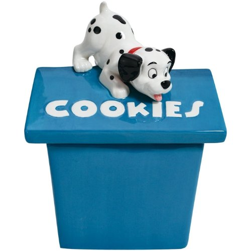 Playful Puppy Ceramic Cookie Jar<br>Westland Giftware <br>Approx 8.5 x 7 x 11 inches