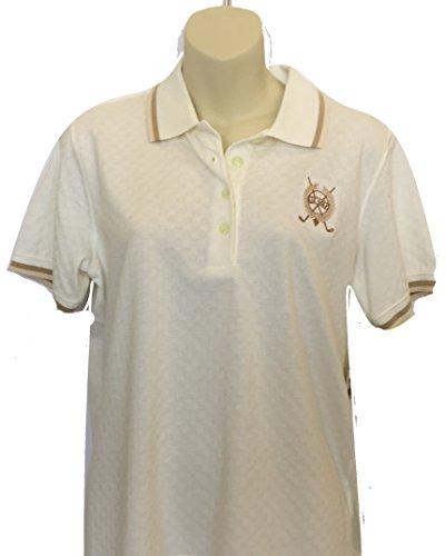 Liz Claiborne LizGolf Essentials Polo (Off White, S) ()
