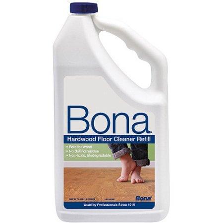 Bona Swedish Formula Hardwood Floor Cleaner, 64 oz No dulling residue , Non-toxic , Safe for wood , Environmentally friendly