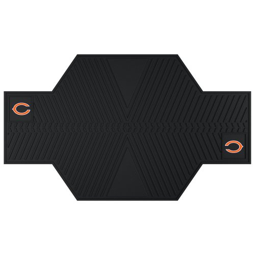 FANMATS 15312 NFL Chicago Bears Motorcycle Mat by Fanmats
