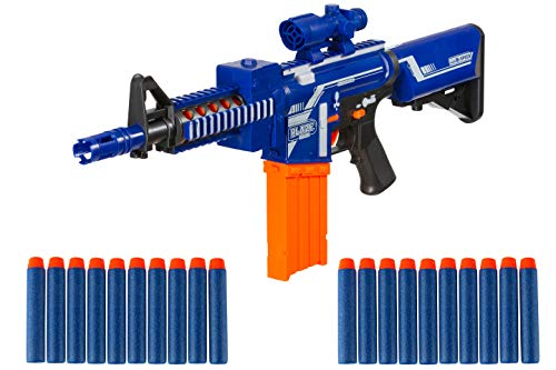 Zetz Brands Semi-Automatic Toy Sniper Rifle with 20 Darts