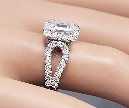 1.70 Ct Emerald Cut Diamond - 3