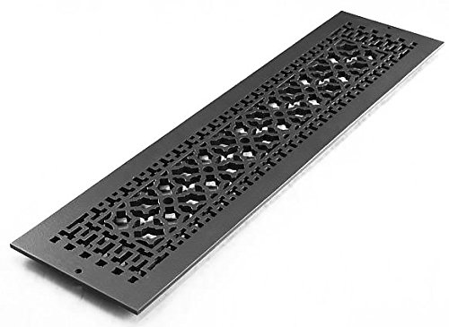 Reggio Registers Aluminum scroll pattern grille #832-ARBH by Reggio Registers