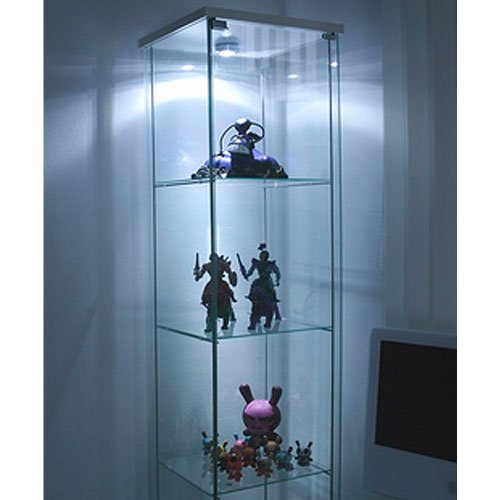 Friheten Ikea Apartment Therapy ~ Ikea Detolf Glass Curio Display Cabinet White , Light Is Included in