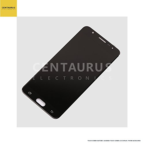 For Samsung Galaxy J7 Prime G610 G610F G610M G610L G610K G610S G610Y G610D G6100 G610DD G610FZ & On Nxt & On7 2016 5.5 inch Assembly LCD Display Touch Screen Digitize Glass Full Replacement (Black)