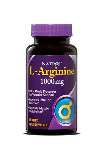 L Arginine Advantage Natrol 50 Tabs