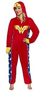 Wonder Woman Women's One-Piece Pajamas