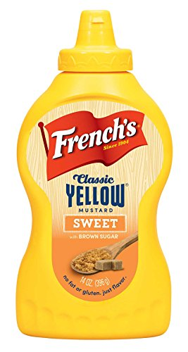 French's Classic Yellow Mustard Sweet Brown Sugar 14 Oz (Pack of 3)