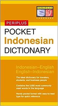 Pocket Indonesian Dictionary (Periplus Pocket Dictionaries)