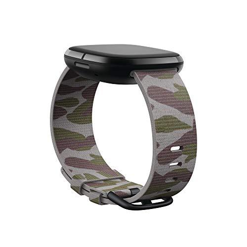 Fitbit Fitbit Versa 3/Sense,Woven Band,camo,Large