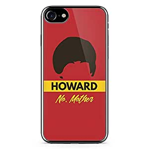 iPhone 7 Transparent Edge Case The Big Bang Theory Howard No Mother