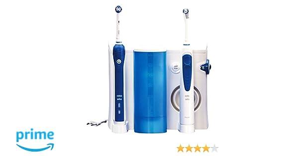 Braun OC203000 - Cepillo de dientes eléctrico de rotación, 8800 rpm, 2 piezas, color azul y blanco: Amazon.es: Salud y cuidado personal