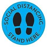 Social Distancing Floor Decals - Safety Floor