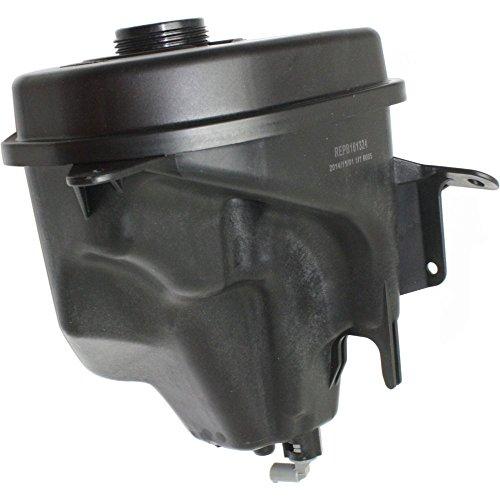 Coolant Reservoir Expansion Tank compatible with BMW X5 07-13 Plastic w/level sensor