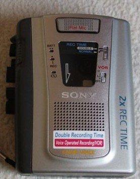 SONY TCM-40DV Portable Cassette Recorder