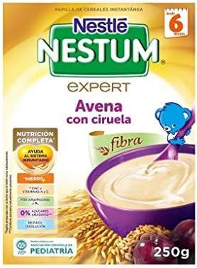 NESTLE NESTUM PAPILLA AVENA CON CIRUELA 250GR: Amazon.es ...